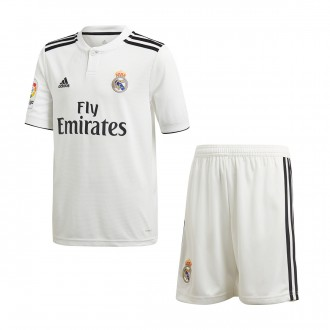 Kit  adidas Kids Real Madrid 2018-2019 Home White-black