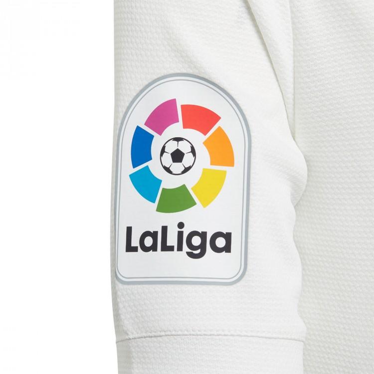 b1a2526fc5546 Conjunto adidas Real Madrid Primera Equipación 2018-2019 Niño White ...