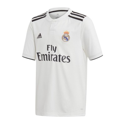 Jersey adidas Kids Real Madrid LFP 2018-2019 Home White-black ...
