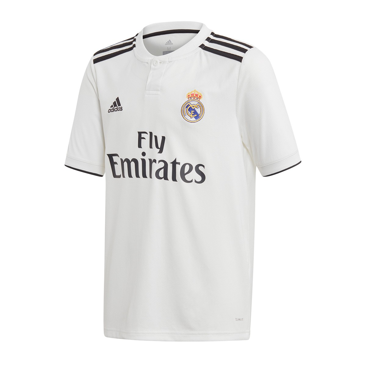 d8da0f2c01774 Jersey adidas Kids Real Madrid 2018-2019 Home White-black - Tienda ...