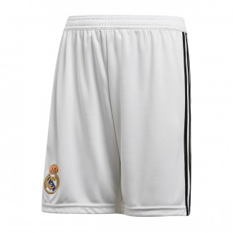Pantaloncini  adidas Real Madrid Home 2018-2019 Junior White-black