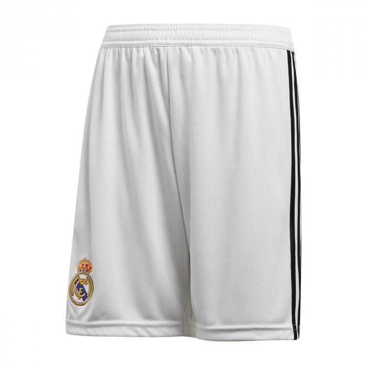 Adidas Real Madrid Kids Home Shorts 2018 19 Cg0549 Footy Com