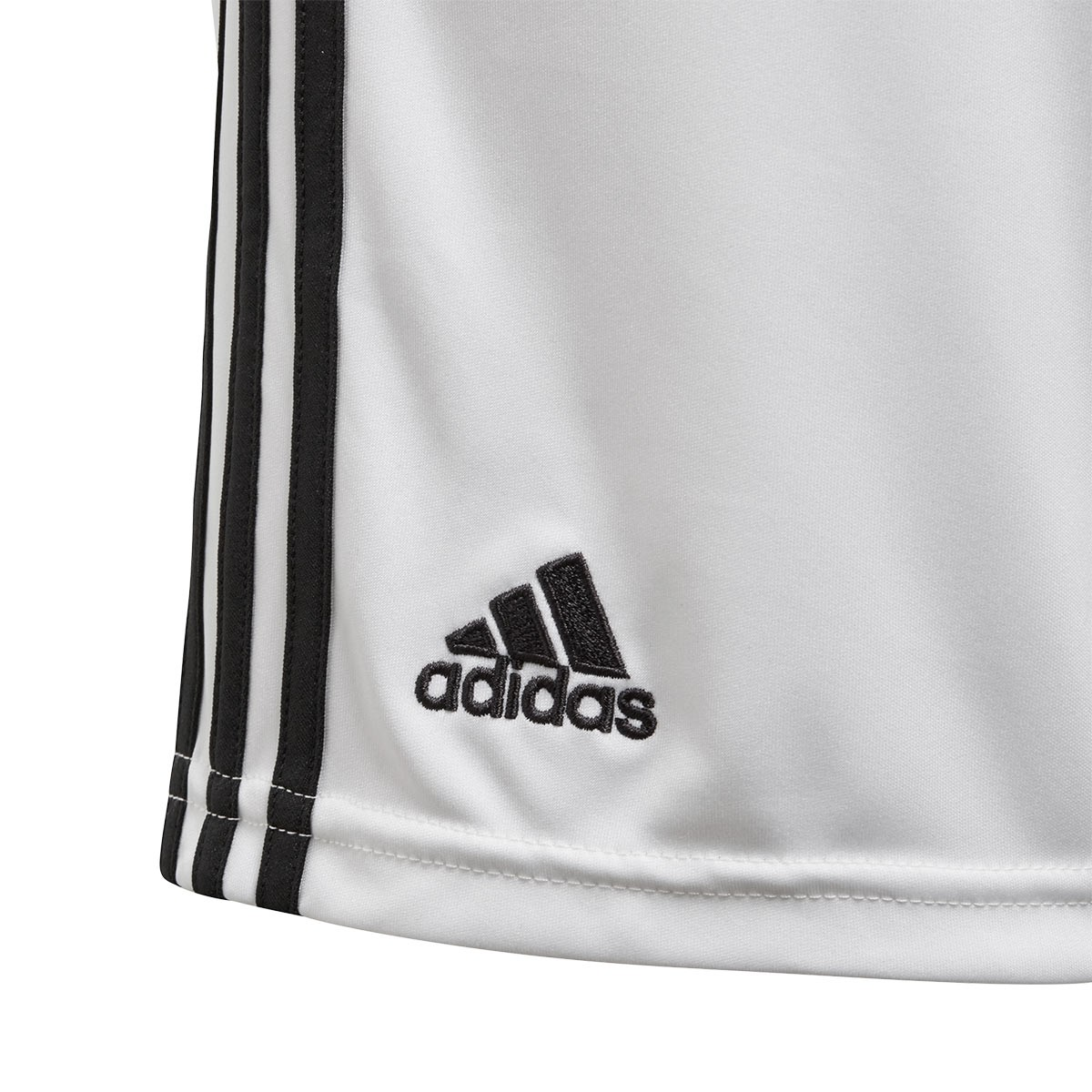 ... Pantalón corto Real Madrid Primera Equipación 2018-2019 Niño  White-black. CATEGORY 052dcc9da424c