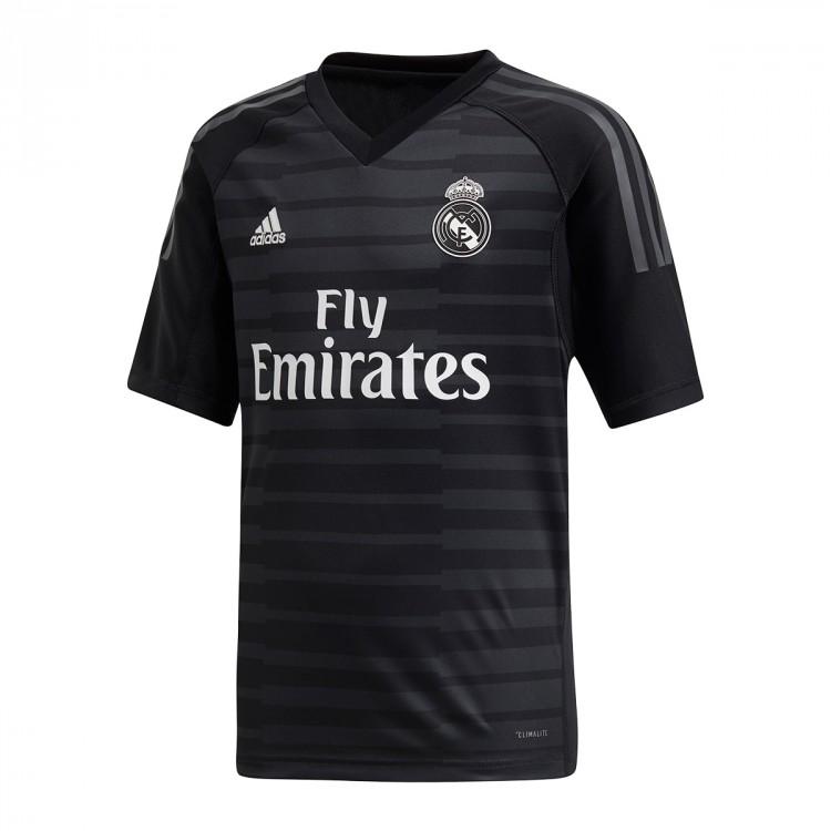 Camiseta adidas Real Madrid Portero Primera Equipación 2018-2019 ... e38837e45ab9f