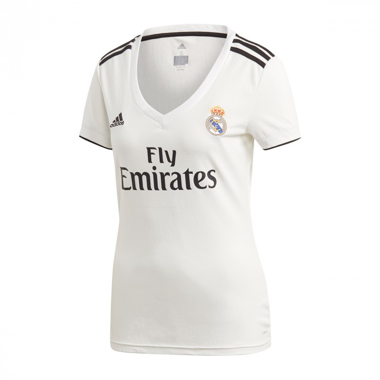 836c3f4c0 Jersey adidas Woman Real Madrid 2018-2019 Home White-black ...