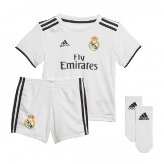 Kit  adidas Infant Real Madrid 2018-2019 Home White-black