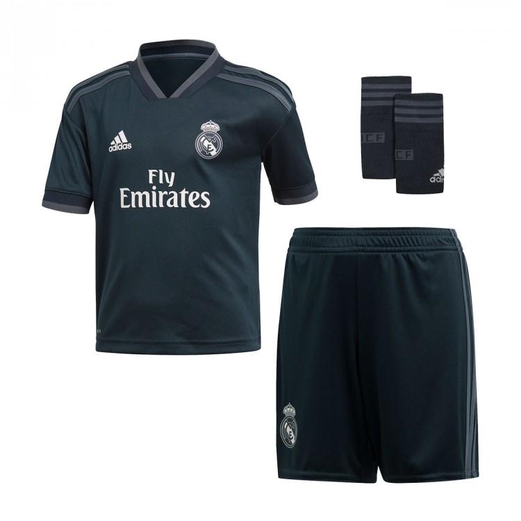 95681b86a067 Kit adidas Kids Real Madrid 2018-2019 Away Tech onix-Bold onix-White ...
