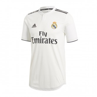 a359af7836f Camisola adidas Real Madrid Equipamento Principal Authentic 2018-2019 White -black