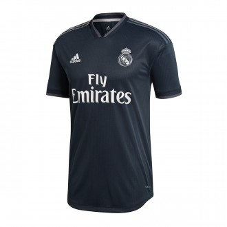 Camiseta  adidas Real Madrid Segunda Equipación Authentic 2018-2019 Tech onix-Bold onix-White