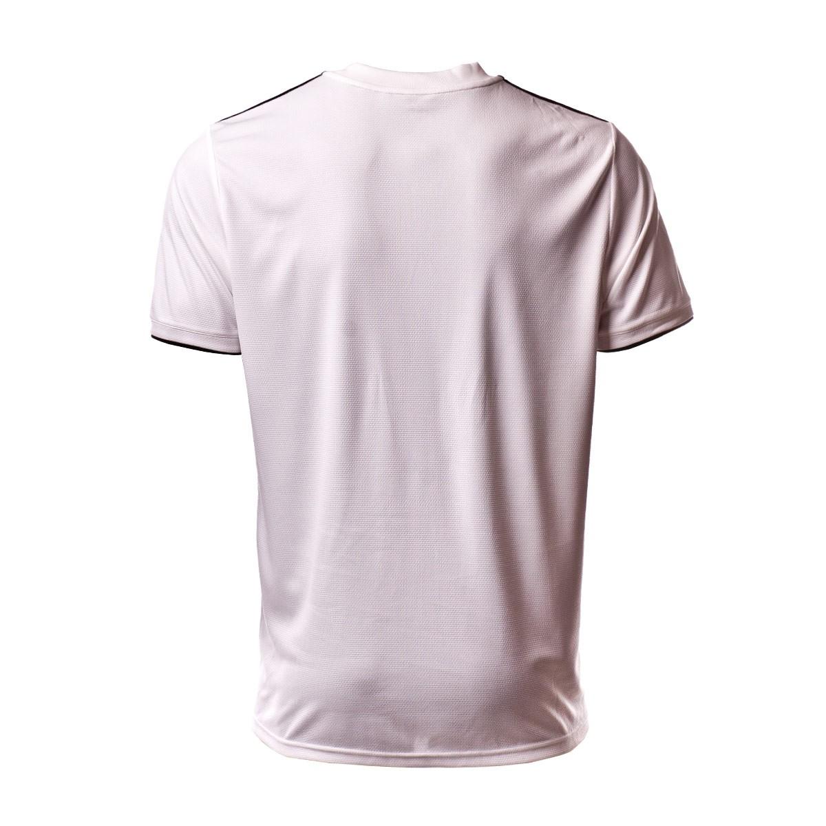 premium selection fd79c c8ff3 Camiseta Real Madrid Primera Equipación LFP 2018-2019 White-black