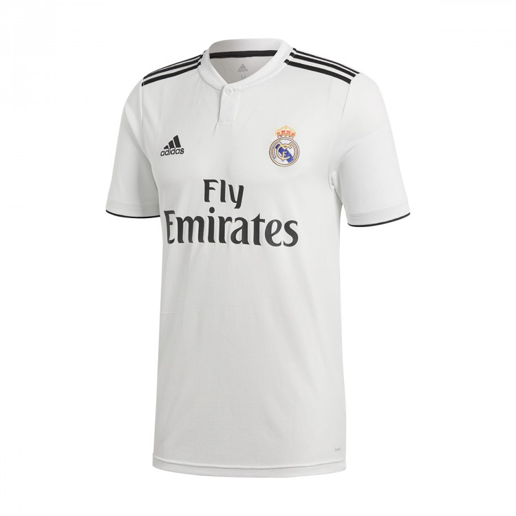 Jersey adidas Real Madrid 2018-2019 Home White-black - Football ... 965a37b7cc426