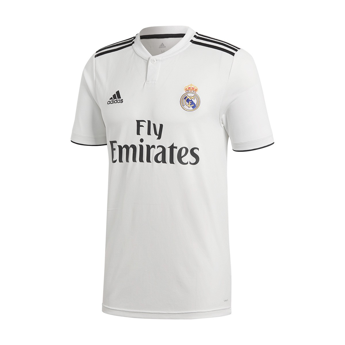 1e54537e Jersey adidas Real Madrid 2018-2019 Home White-black - Football ...