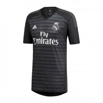 Camiseta  adidas Real Madrid Portero Primera Equipación 2018-2019 Black-Carbon
