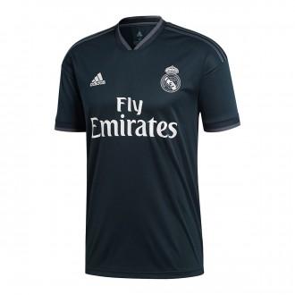 Camiseta  adidas Real Madrid Segunda Equipación LFP 2018-2019 Tech onix-Bold onix-White