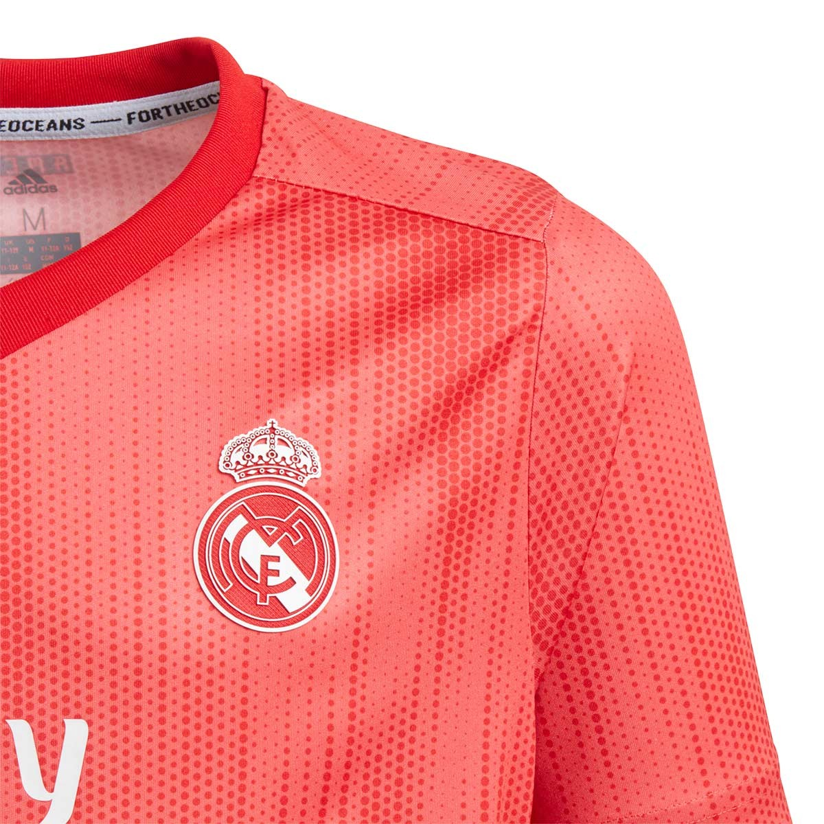 b1d163959b09c Jersey adidas Kids Real Madrid 2018-2019 Third Real coral-Vivid red -  Tienda de fútbol Fútbol Emotion
