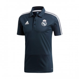 Polo  adidas Real Madrid 2018-2019 Tech onix-Black-White