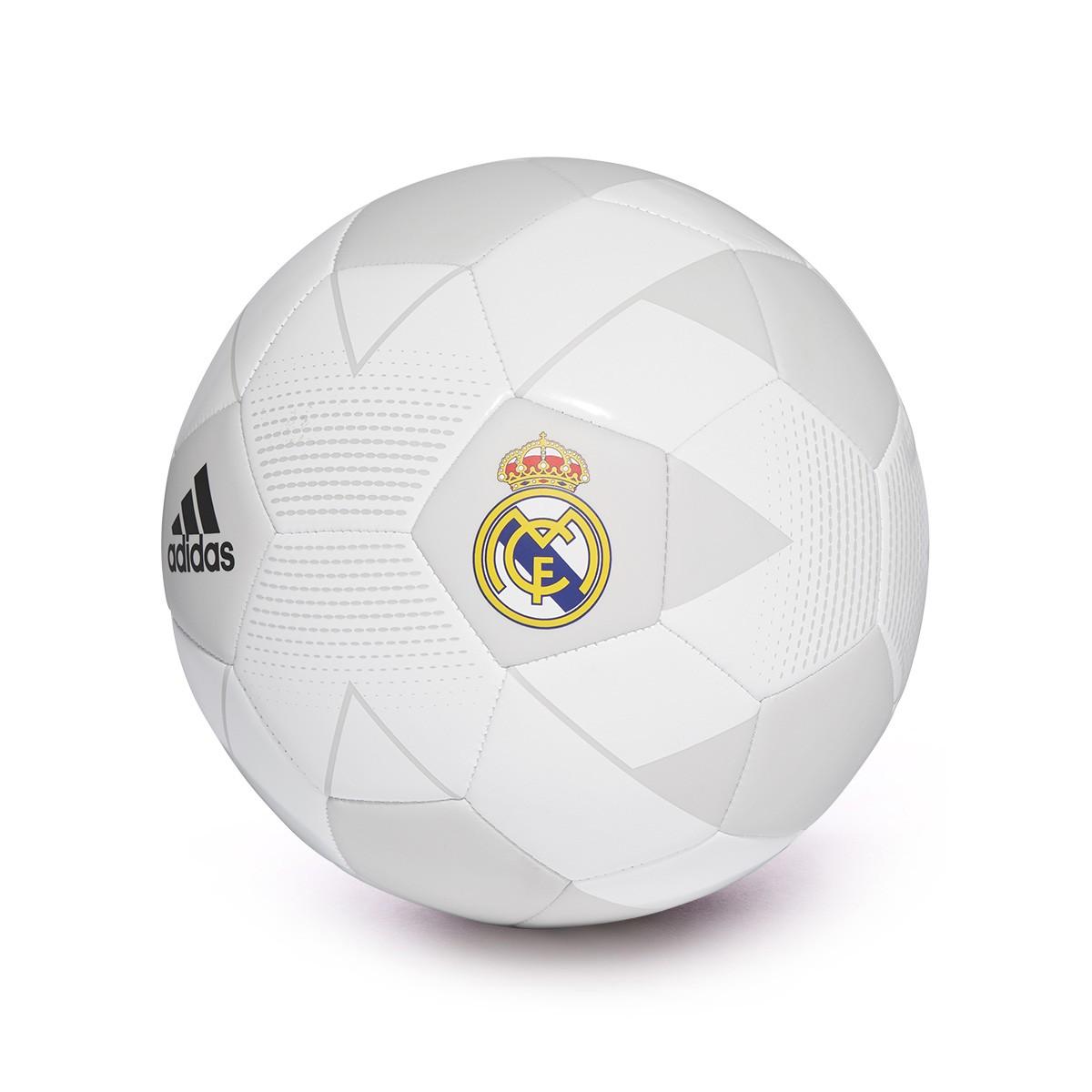 Balón adidas Real Madrid 2018-2019 Cream white-Grey one-Black ... 3cd508c743ea9