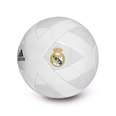 Balón Real Madrid 2018 2019 Cream white Grey one Black