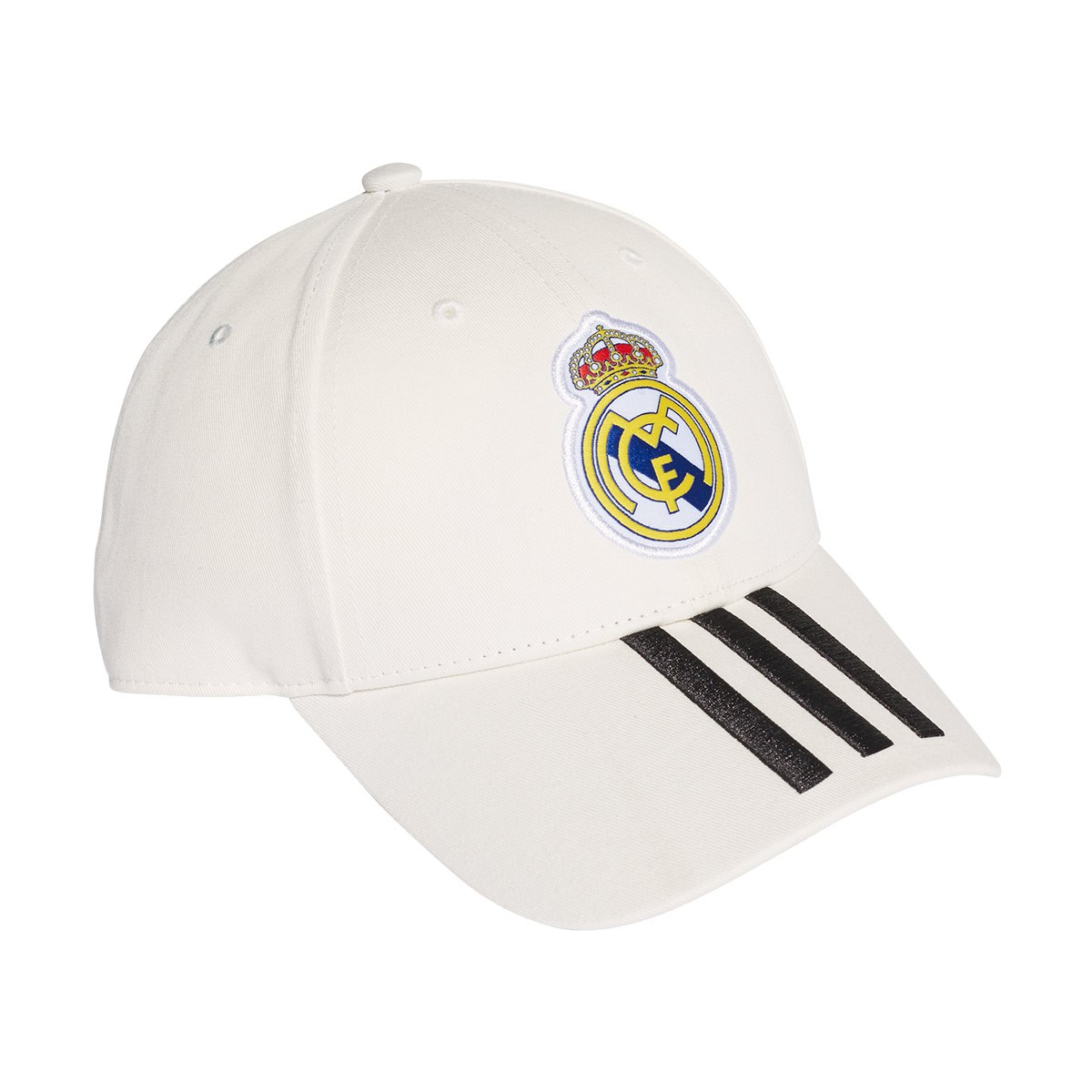 cd36cc88 Cap adidas Real Madrid 3S 2018-2019 White-Black - Football store ...