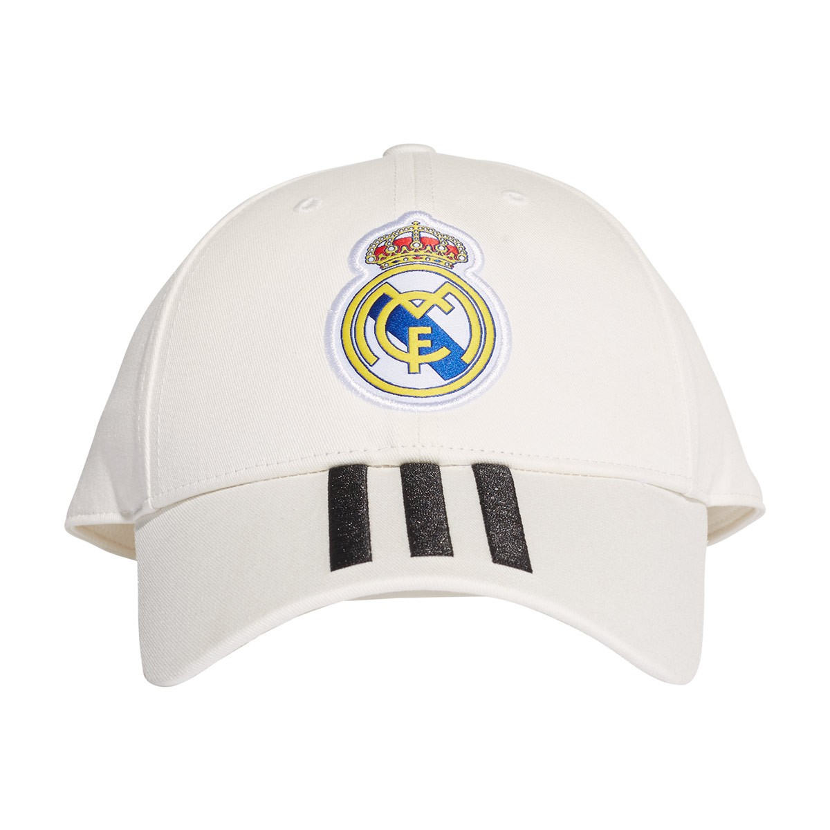 92986bc8cb474 Cap adidas Real Madrid 3S 2018-2019 White-Black - Football store Fútbol  Emotion