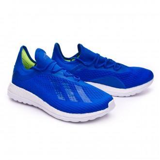 Trainers  adidas X18+ Adizero TR Ice blue-Gold metallic