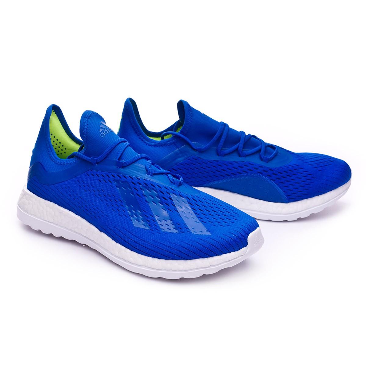 Scarpa Urban adidas X18 Adizero TR Ice blueGold metallic