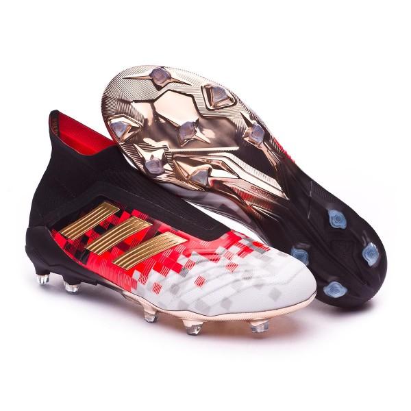 b2ed5b9f747 Football Boots adidas Telstar Predator 18+ Black-Copper metallic-Solar grey  - Tienda de fútbol Fútbol Emotion