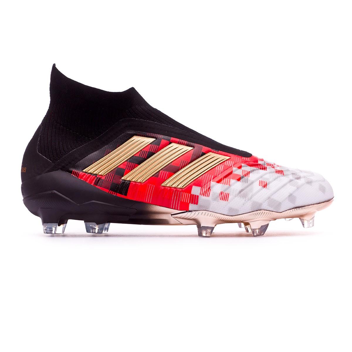 72d38707d8db Football Boots adidas Telstar Predator 18+ Black-Copper metallic-Solar grey  - Football store Fútbol Emotion
