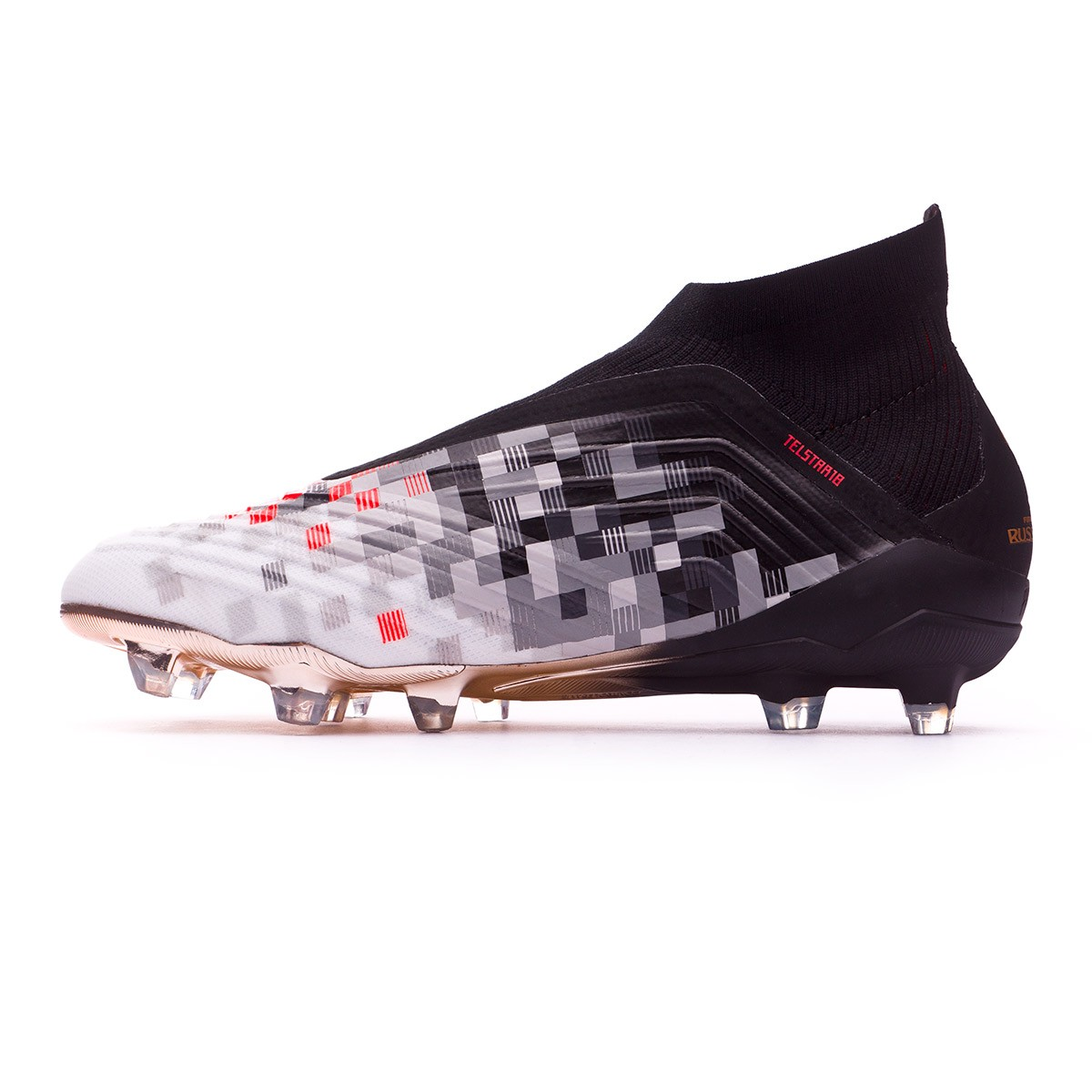 online store 4c5f6 6474e Boot adidas Telstar Predator 18+ Black-Copper metallic-Solar grey ...