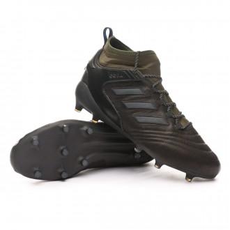 Boot  adidas Copa Mid FG GTX Black-Solar grey-Mystery ruby