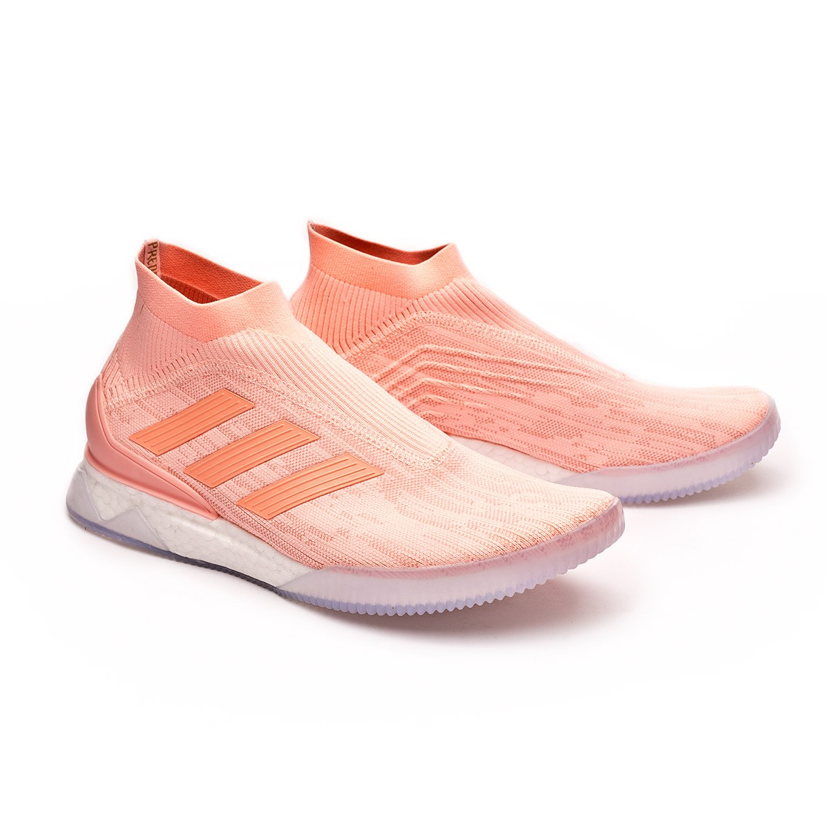 f7907ad6918b Trainers adidas Predator Tango 18+ TR Clear orange-Trace pink ...