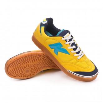 Sapatilha de Futsal  Kelme Trueno Sala Amarelo-Turquesa