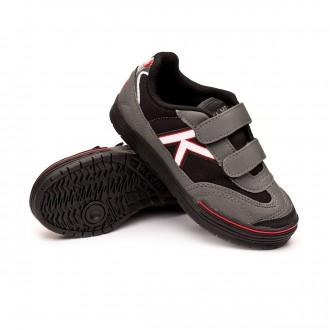 Futsal Boot  Kelme Kids Trueno Sala Velcro  Antracita-Black