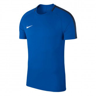 Maillot  Nike Academy 18 Training m/c Royal blue-Obsidian-White