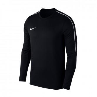 Sweatshirt  Nike Kids Park 18 Drill  Black-White