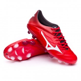 Chuteira  Mizuno Rebula 2 V1 High risk red-White-Black