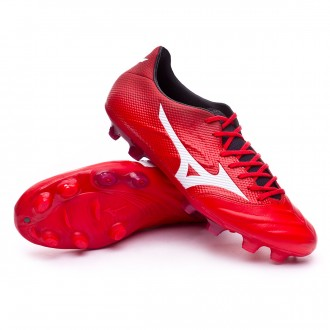 Chuteira  Mizuno Rebula 2 V2 High risk red-White-Black