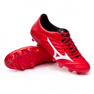 Chuteira  Mizuno Rebula 2 V3 High risk red-White-Black