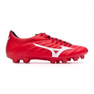 Football Boots  Mizuno Rebula 2 V3 High risk red-White-Black