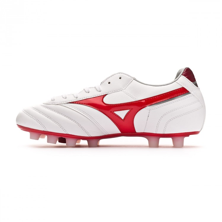 timeless design 3a22d b2ea3 Bota Morelia Classic MD White-High Risk Red