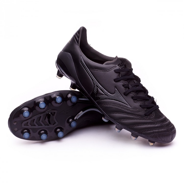 Chuteira Mizuno Morelia NEO II MD Black - Loja de futebol Fútbol Emotion f3ce516c1aa94