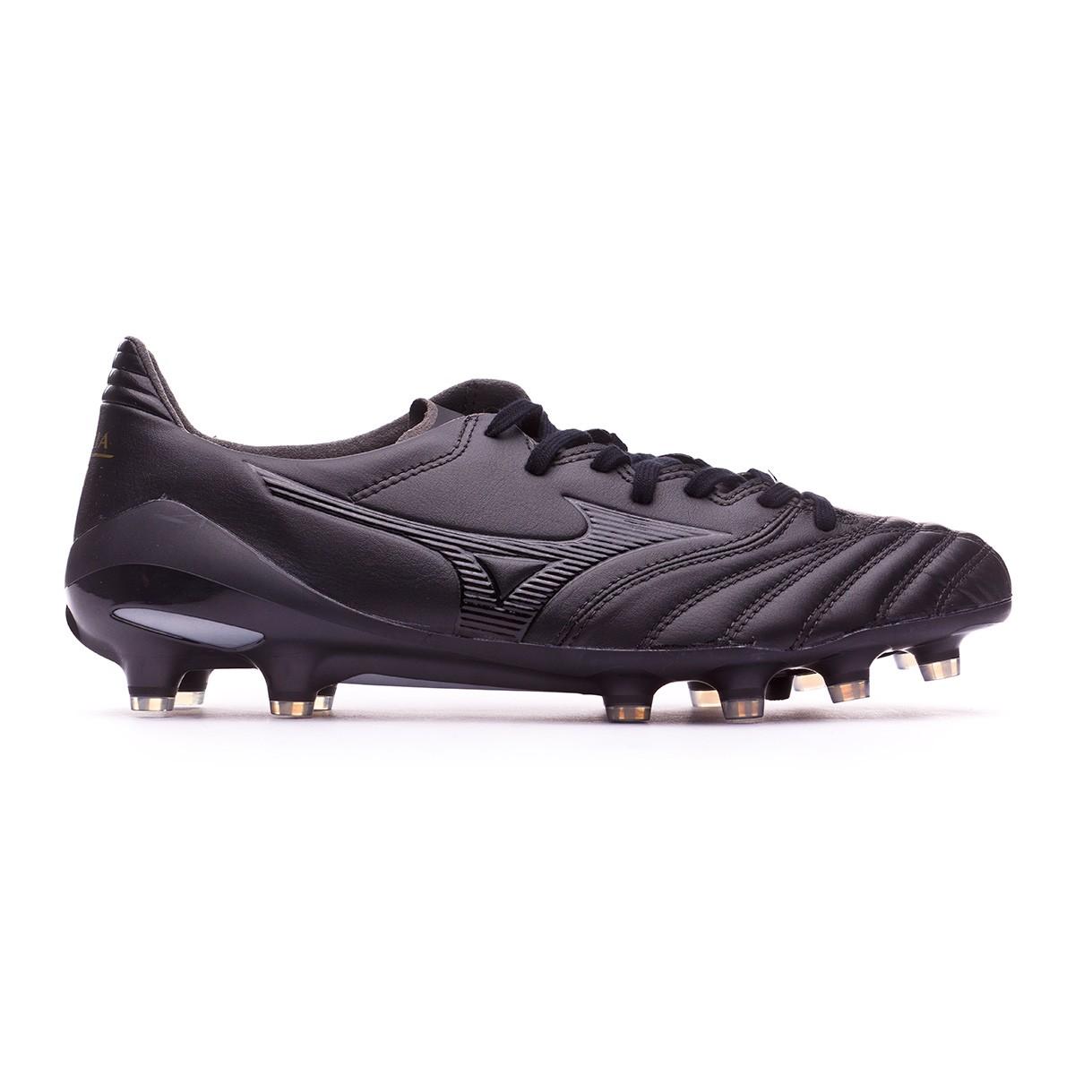 1258b51b267b2 Football Boots Mizuno Morelia NEO II MD Black - Tienda de fútbol Fútbol  Emotion