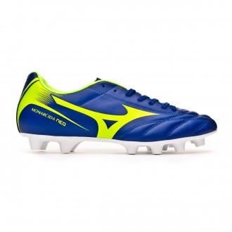Chaussure de foot  Mizuno Monarcida NEO MD Navy-Green