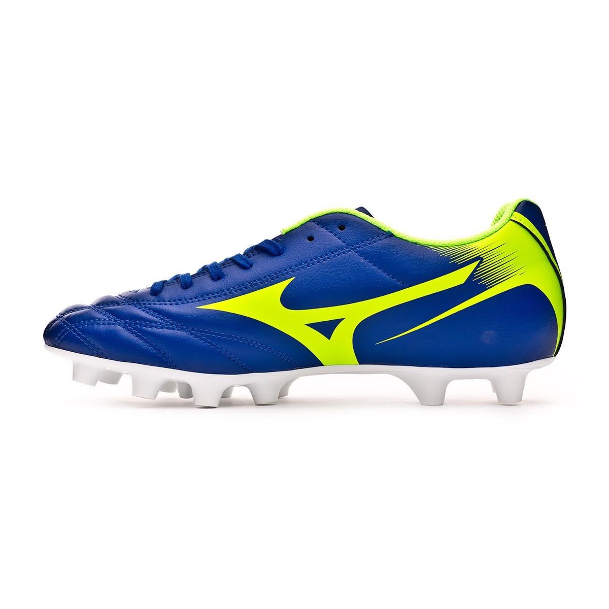 498d090af84fa Football Boots Mizuno Monarcida NEO MD Navy-Green - Tienda de fútbol Fútbol  Emotion