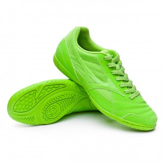 Futsal Boot  Mizuno Sala Club 2 IN Jasmine green-Silver