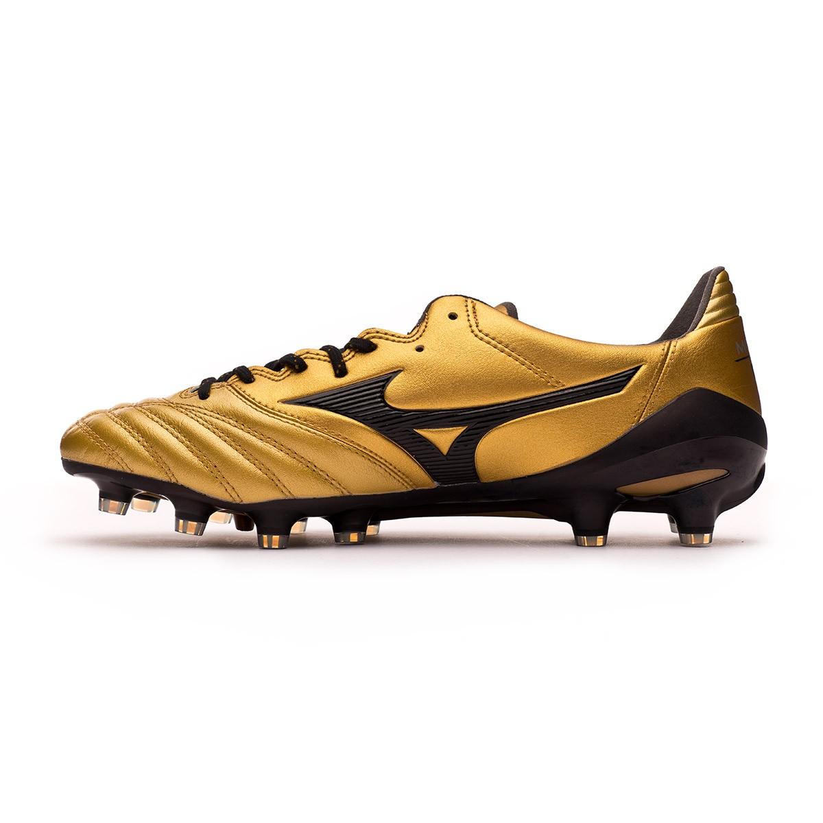 ccdaae3ae0b09 Football Boots Mizuno Morelia NEO II MD Gold-Black - Tienda de fútbol  Fútbol Emotion
