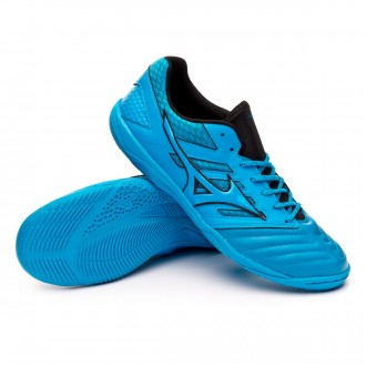 Chaussure de futsal  Mizuno Sala Premium 3 IN Blue jewel-Blue jewel-Black