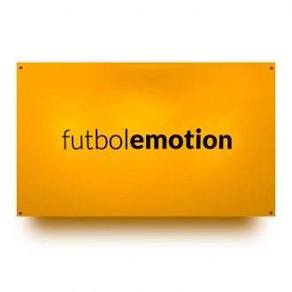 SP Fútbol Emotion Anti-slip Canvas Yellow