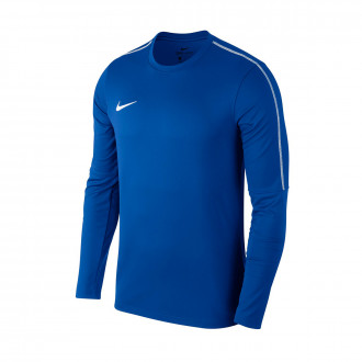 Sudadera  Nike Park 18 Drill Niño Royal blue-White