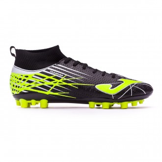 Chaussure de foot  Joma Champion AG Black-Lime